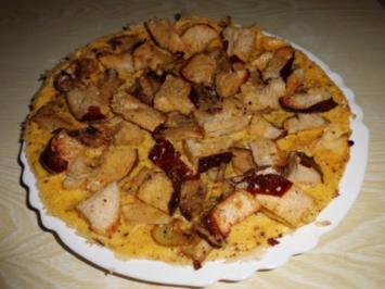 Pfannengericht: Omelett mit Pilzen und Brötchen - Rezept