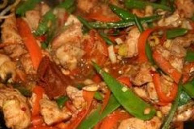 Hühnchen von Hauch Curry - Rezept