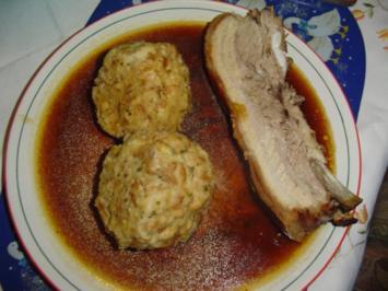 Schweinebauch im Ofen gegrillt - Rezept