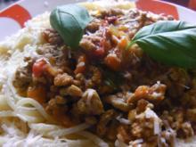 Spaghetti Bolognese di Papa - Rezept