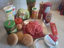 Hamburger (Original-Rezept aus Arizona) - Rezept