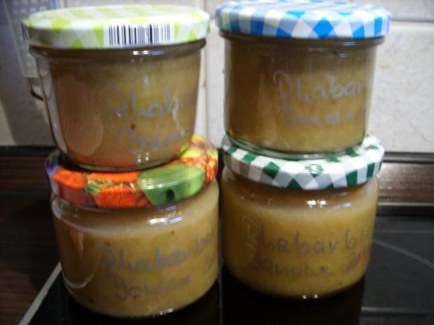 Konfitüre & Co: Rhabarber-Banane - Rezept