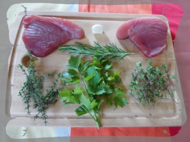 Thunfischsteak mit Spargel - Rezept - Bild Nr. 2
