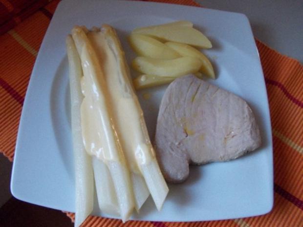 Thunfischsteak mit Spargel - Rezept - Bild Nr. 6