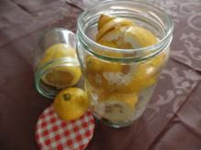 Marokkanische Salzzitronen - Rezept