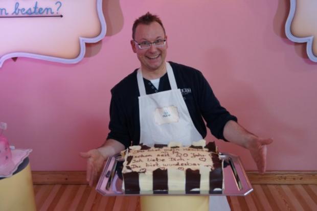 Grand Manier Torte mit Blattschokolade - Rezept - Bild Nr. 2