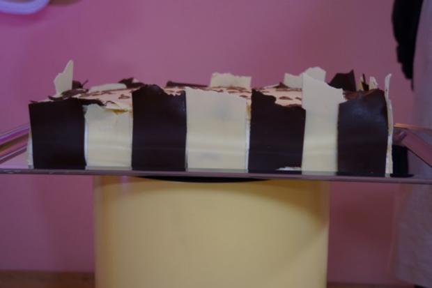 Grand Manier Torte mit Blattschokolade - Rezept - Bild Nr. 3