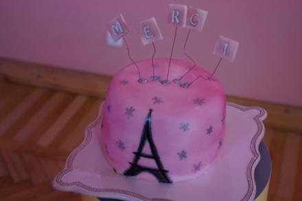 Pink-Ombre-Cake - Rezept