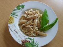 Spargel-Nudeln-Hähnchenfilet Pfanne - Rezept