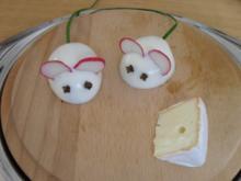 Eier-Mäuse - Rezept