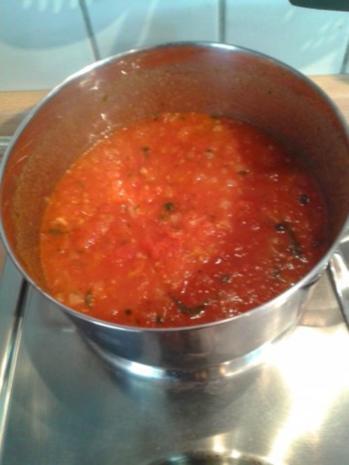 frische Tomatensauce für /Pizza aber auch Pasta - Rezept