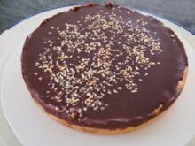 Schokoladen- Tarte - Rezept