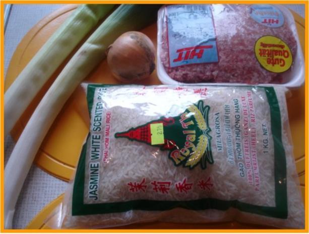 Curry-Hackfleisch-Porree-Reis-Pfanne - Rezept - Bild Nr. 2