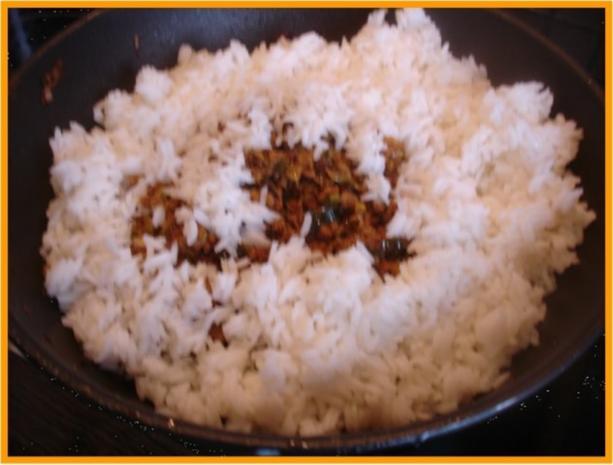 Curry-Hackfleisch-Porree-Reis-Pfanne - Rezept - Bild Nr. 14