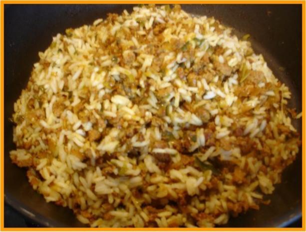 Curry-Hackfleisch-Porree-Reis-Pfanne - Rezept - Bild Nr. 15