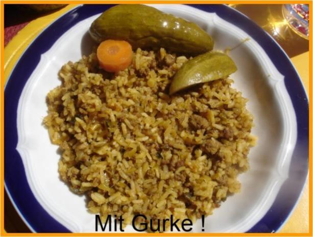 Curry-Hackfleisch-Porree-Reis-Pfanne - Rezept - Bild Nr. 16