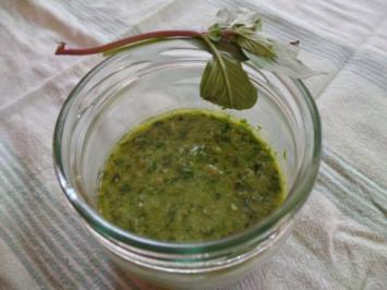 Basilikum -Pesto - Rezept