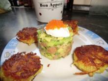 Tartar von Fisch und Avocado - Rezept