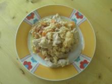 Reispfanne mit Möhren und Pute - Rezept