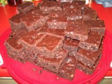 Meine ersten .... Brownies .... - Rezept