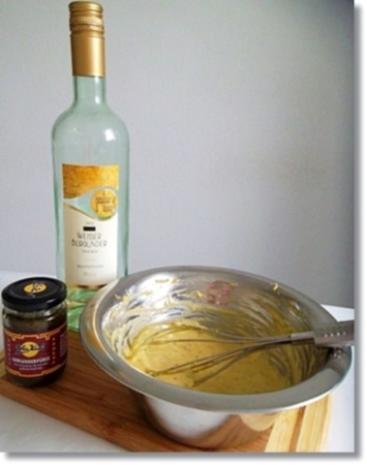 Zweierlei Spargel mit Kräuter Sauce, Drillingen und Lachs-Rose dazu - Rezept - Bild Nr. 17