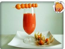 Papaya – Physalis – Smoothie - Rezept