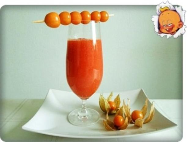 Papaya – Physalis – Smoothie - Rezept