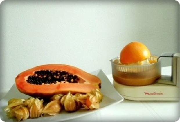 Papaya-Diät, die Sie servieren