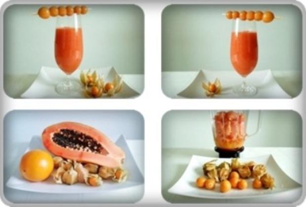 Papaya – Physalis – Smoothie - Rezept - Bild Nr. 12