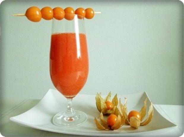 Papaya – Physalis – Smoothie - Rezept - Bild Nr. 14
