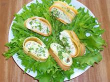 Lasagneröllchen mit Avocadocreme - Rezept