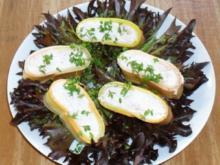 Lasagneröllchen mit Krabbencreme - Rezept