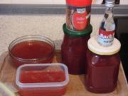Granatapfel lädt ein: Birne, Chili, Ingwer, Arrak und Apfel - Rezept