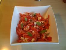 Leo´s  Tomatensalat mit Feta - Rezept