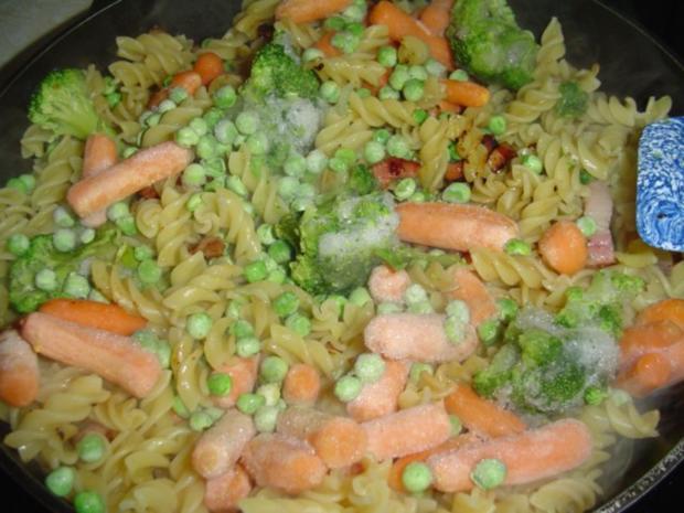 Würzige Nudelpfanne mit Gemüse. - Rezept - Bild Nr. 6