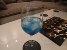 Schalke Cocktail Blue Flame - Rezept