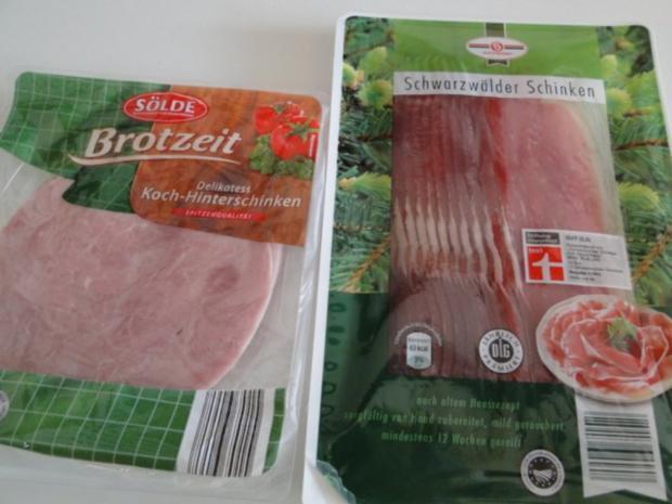 Spargel mit Käse-Sahne-Kräutersauce natürlich mit Schwarzwälder Schinken und - Rezept - Bild Nr. 7