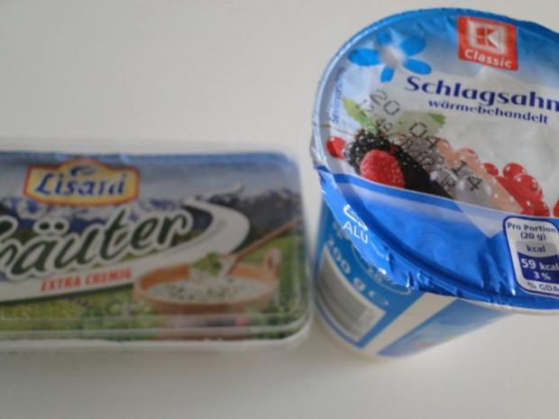 Spargel mit Käse-Sahne-Kräutersauce natürlich mit Schwarzwälder Schinken und - Rezept - Bild Nr. 8