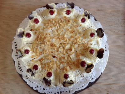 Cranberry-Torte - Rezept