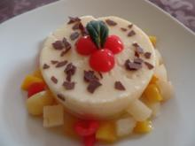 Grießpudding mit Früchten - Rezept
