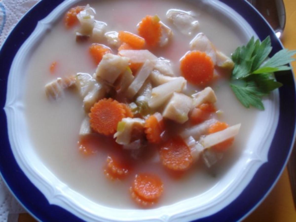 Fischsuppe nach Art der Hausfrau - Rezept Von Einsendungen MausVoh