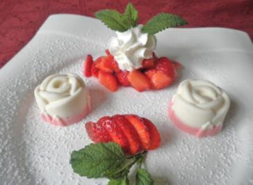 Erdbeer - / Limetten - Eis ... - Rezept