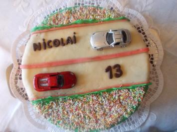 Geburtstagskuchen für Nicolai - Rezept