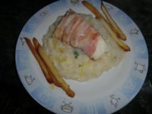 Spargelrisotto mit Fisch - Rezept