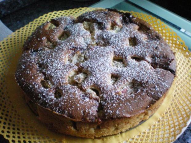 Kuchen Rhabarberkuchen Ruckzuck Rezept Kochbar De