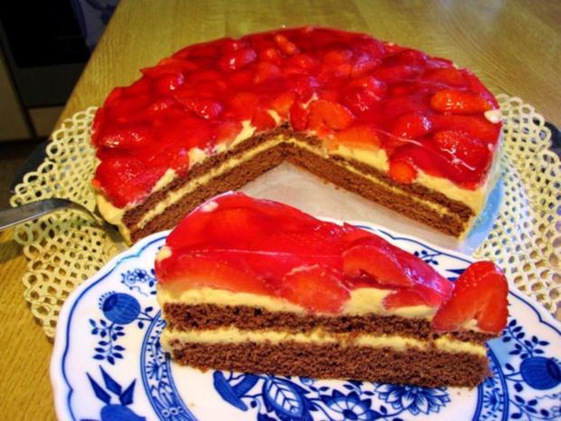 Erdbeer-Torte - Rezept - Bild Nr. 4