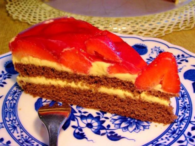Erdbeer-Torte - Rezept - Bild Nr. 5