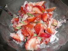 Konfitüre : Erdbeere + Ananas - Rezept