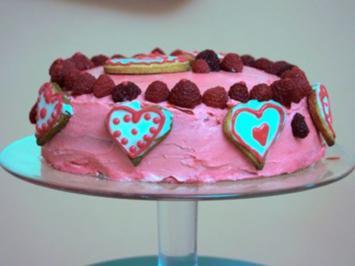 Muttertags-Himbeer-Prosecco-Torte (Natalie Schreiner) - Rezept