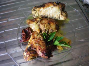 Geflügel: Hähnchen nach spanischer Art - Rezept